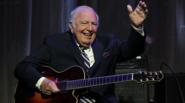 Bucky Pizzarelli, Jazz Guitarist And Prolific Session Musician ...