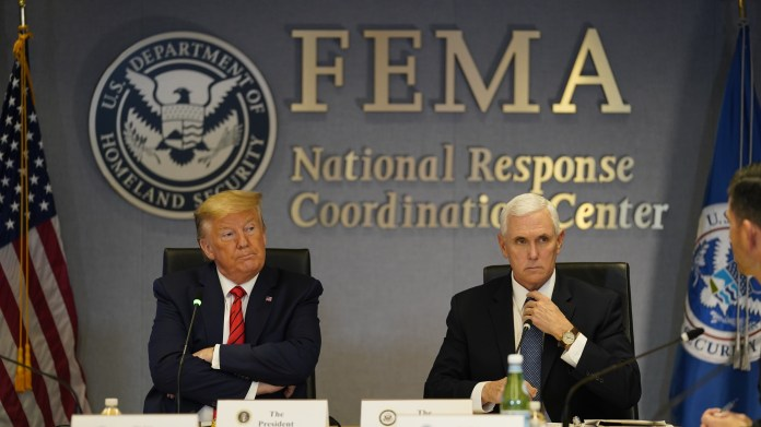 President Trump has not approved FEMA funding for legal help for Americans affected by the coronavirus. So-called Disaster Legal Services are usually available to survivors of disasters.