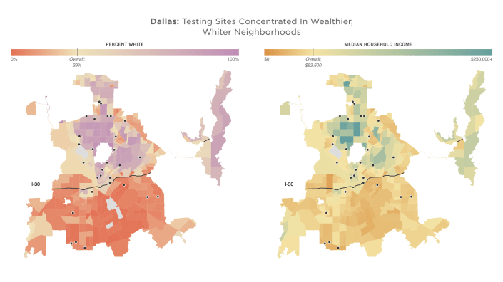maps of Dallas