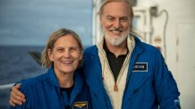 Kathy Sullivan, First U.S. Woman to Walk in Space, Dives to Deepest Point in the Ocean