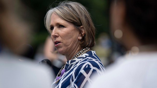 Michelle Lujan Grisham has been discussed as a possible head of the U.S. Department of Health and Human Services.