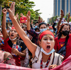Myanmar Blocks Facebook, Twitter As Anti-Coup Protests Grow