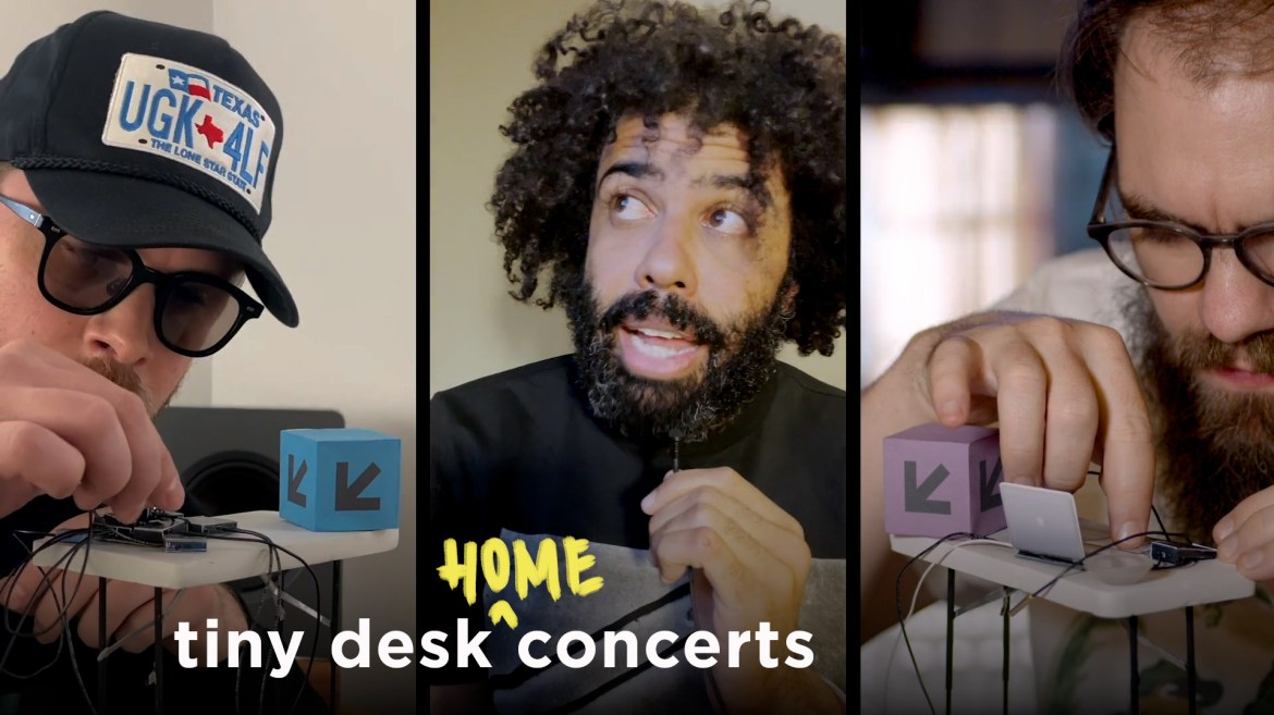 clipping. performs a Tiny Desk (home) concert.