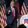 Trump Returns To Campaign Trail With Election Lies And Dark Warnings