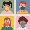 Everyone should wear a mask in school, vaccinated or not, say US pediatricians.