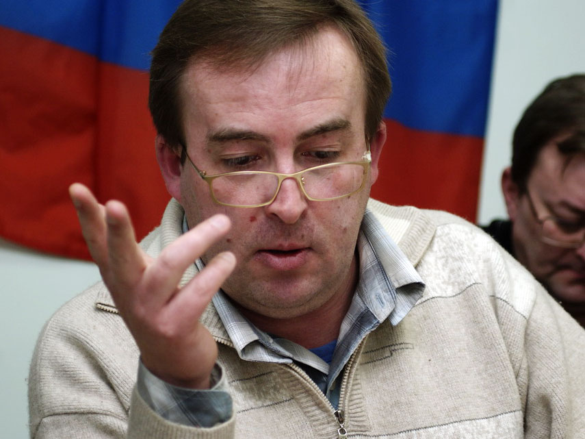 Sergei Pochechuyev, former political consultant to United Russia