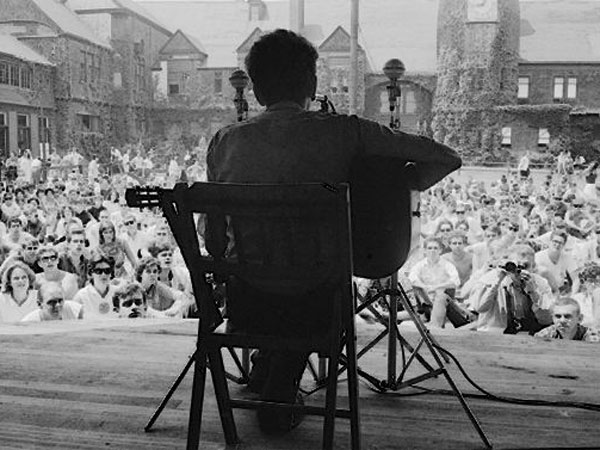 Newport 1963 Bob Dylan