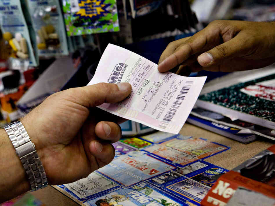 More People Buying Lottery Tickets Despite Recession NPR