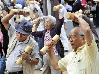 عدد كبار السن في اليابان يصل لمستويات قياسية   عبر وكالة إي أف بي