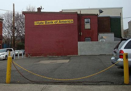 I Hate Bank of America