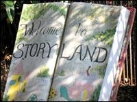 Storyland sign