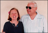 Portalski is shown with her late father, Jim Hensley, who also was Cindy McCains father.
