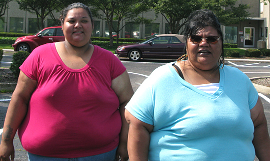 Angelica Hernandez and her mother, Gloria Nunez