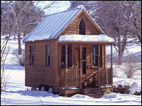Shafer's 8x12' Front Gable model