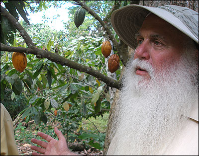 Howard Shapiro, chief agronomist at chocolate manufacturer Mars Inc.