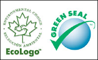 EcoLogo and Green Seal labels