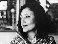 Author Bharati Mukherjee