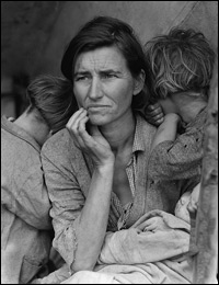Dorothea Lange's 'Migrant Mother'