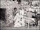 Sewing a Quilt. Gee's Bend, Alabama