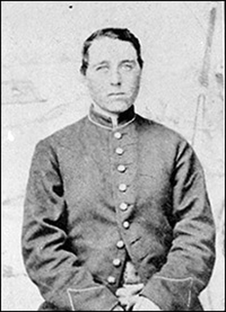 Civil War soldier's portrait