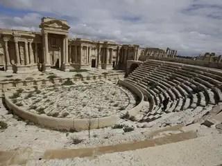 Historische stad in handen IS