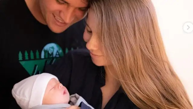 The couple share the birth of their daughter on Instagram.