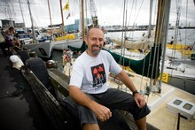 'Vega' skipper Daniel Mares says the decision to allow oil exploration of the Raukumara Basin is short-sighted. Photo / Dean Purcell