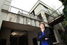 Robyn Horsfall says the quality of work on the leaky Parnell apartments exceeded that allowed for in the settlement.  Photo / Brett Phibbs