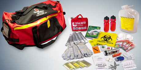 Grab & Go Survival Kit. Photo / Supplied