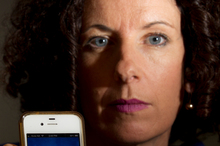 Liz Lyons was charged more than $300 when her Facebook account was hacked. Photo / Greg Bowker