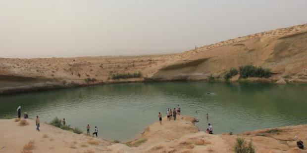 Il nuovo lago di Gasfa in Tunisia