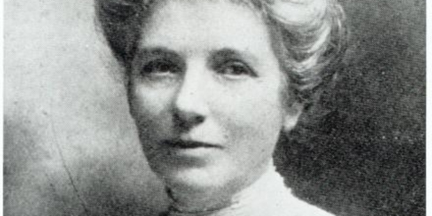 Suffragette Kate Sheppard.