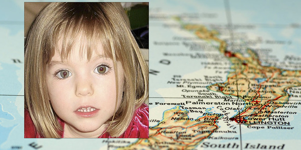 A paedophile wanted over the Madeleine McCann case is also sought in New Zealand. Photo / Getty, AP