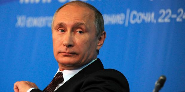 Russian President Vladimir Putin attends G20.
