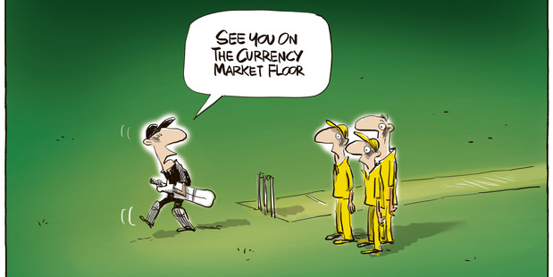 The Cricket World Cup final was an example of a more mature attitude towards the age-old trans-Tasman rivalry. Photo / Rod Emmerson