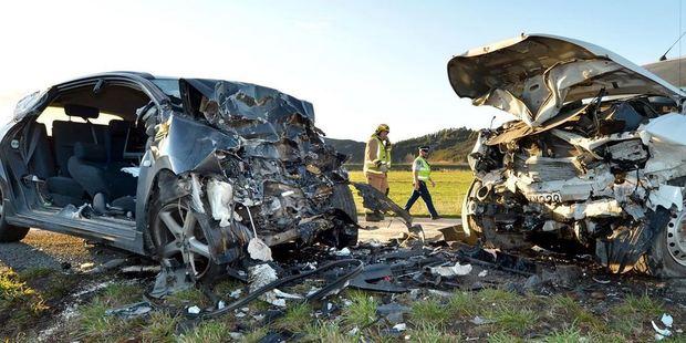 Deadly crash near Dunedin