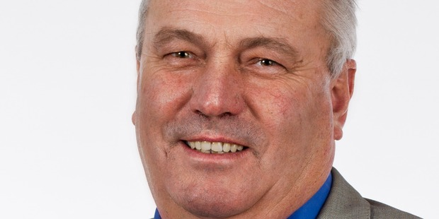 2016 photo of Auckland councillor Bill Cashmore. Photo / supplied wbcmakemyday@yahoo.co.nz NZH 10Oct16 -
