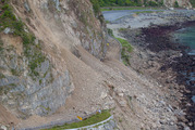 The Kaikoura quake was just one of a record number of earthquakes recorded by GeoNet this year. Photo/ Mark Mitchell