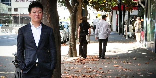 William Yan in Auckland shortly after returning from his trial in China. Photo / Jason Oxenham.