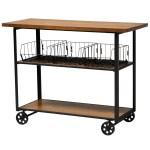 Farmhouse Console Table Cart Office Depot