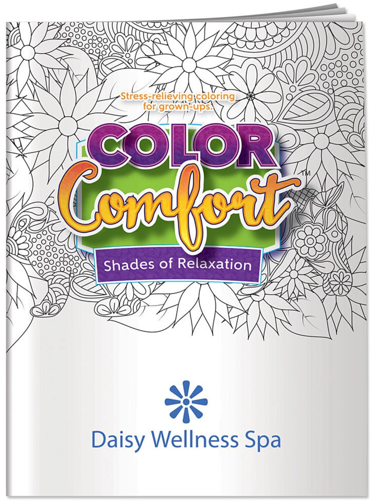 Color Comfort Adult Coloring Books Office Depot