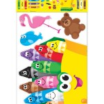 Trend Colorful Crayons Bulletin Board Set 21 Pieces Office Depot