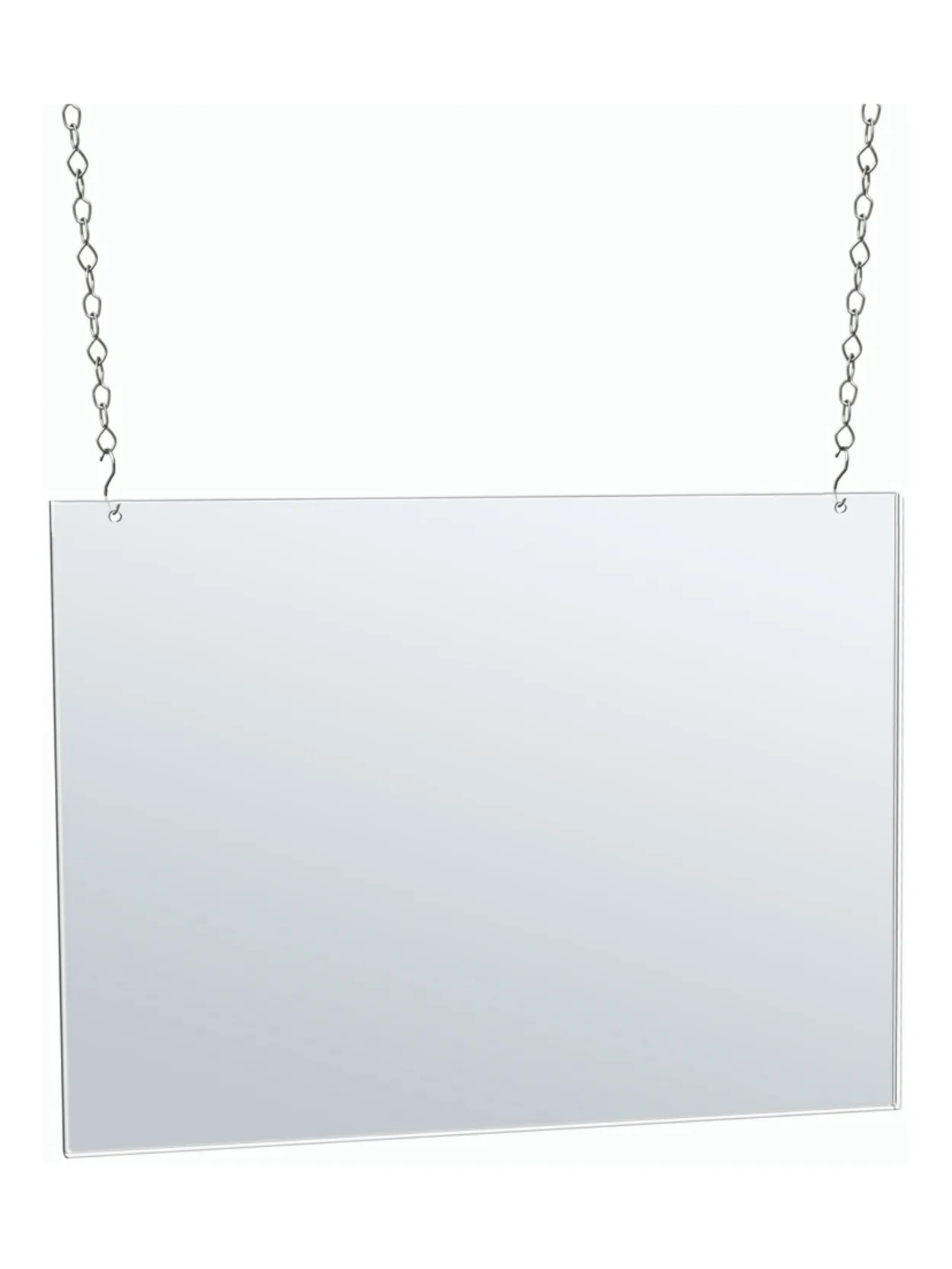 azar displays horizontal hanging poster frame 17 x 22 clear item 7695706