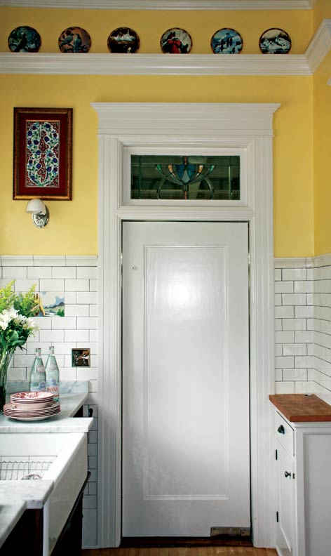 French Bakery Inspired Kitchen Old House Online Old