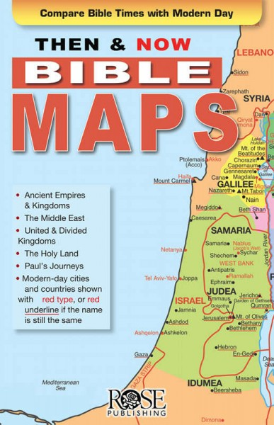 Bible Today Lands Map