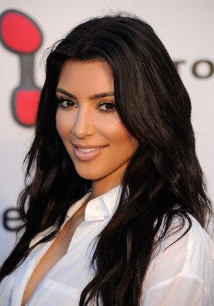 Kim Kardashian - Wavy Long Hairstyles 2010