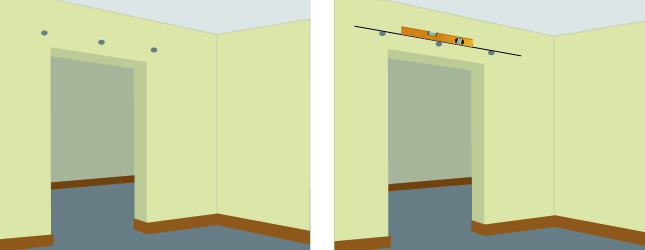 installer une porte coulissante porte