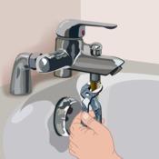 changer un flexible de baignoire