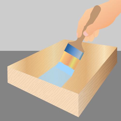 peindre du bois peinture
