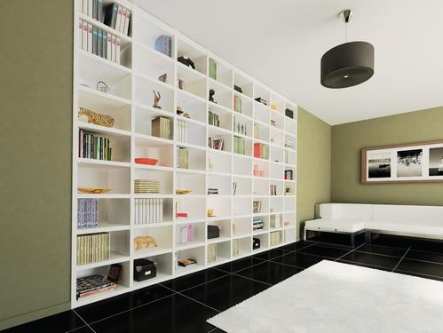 meuble bibliotheque types materiaux